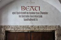 Kirchentüre im Stift Nonnber