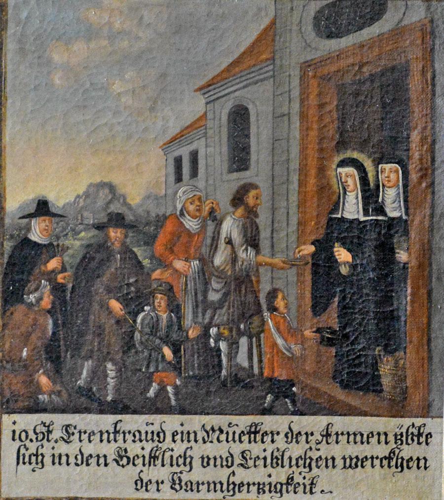 Die Hl. Erentrudis und die Benediktinerinnenabtei Nonnberg