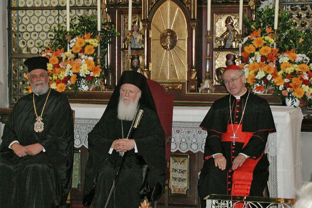 Besuch des Ökumenischen Patriarchen Bartholomaios I