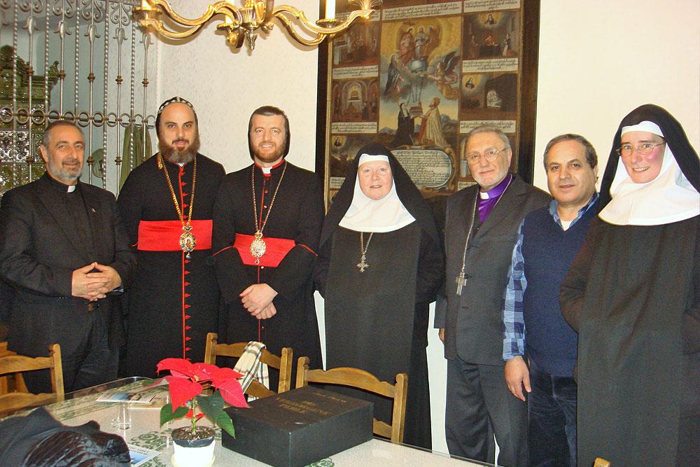 Besuch der syrisch-orthodoxen Bischöfe