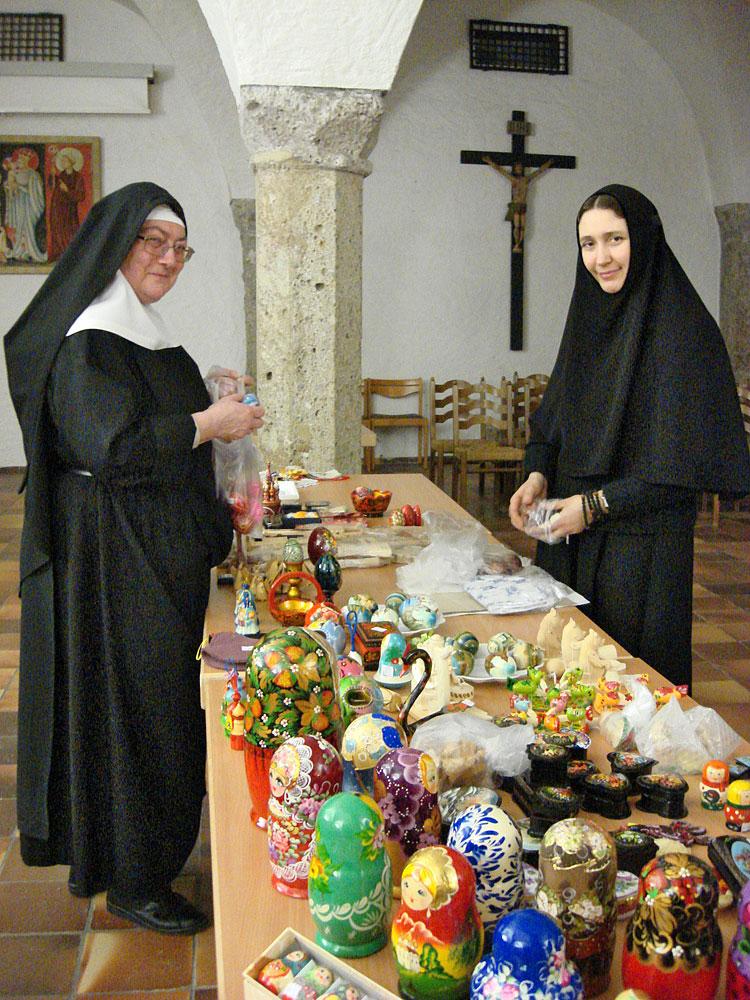 Nonne des St. Elisabeth-Klosters in Minsk