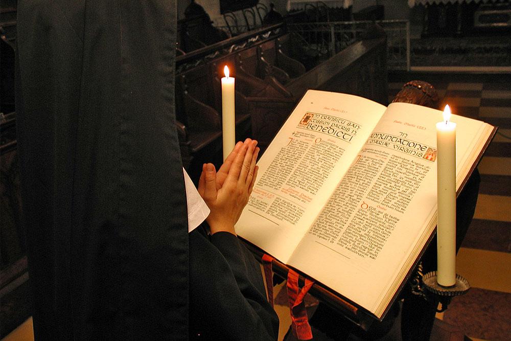Benediktinerinnernabtei Nonnberg - Die Lesung