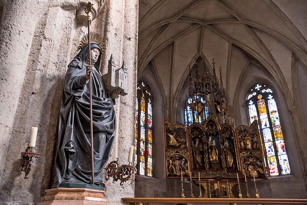Stift Nonnberg - Stiftskirche