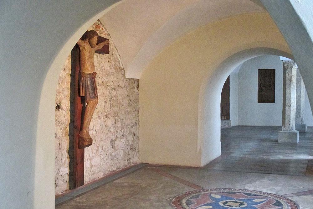 Blick in die Benediktinerinnenabtei Nonnberg